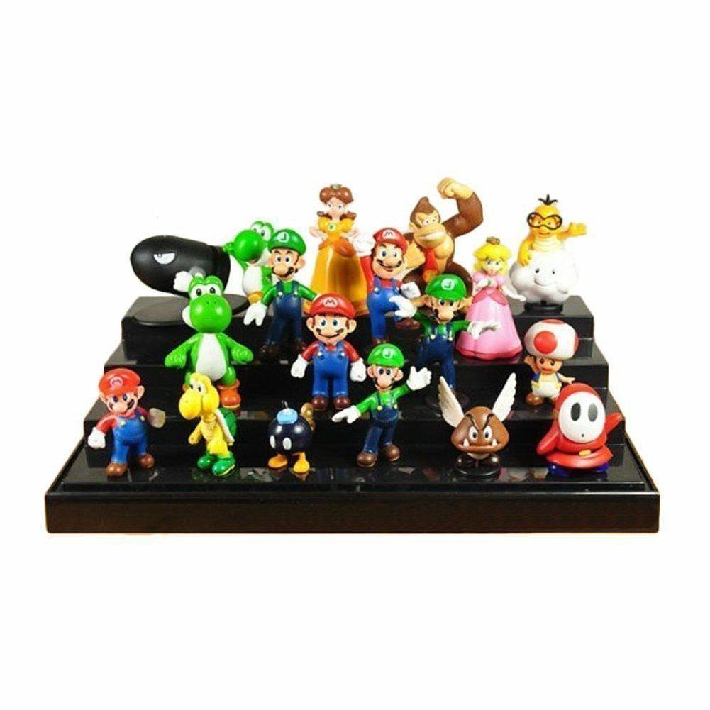 Super Mario Bros Figure Toy Model Lot