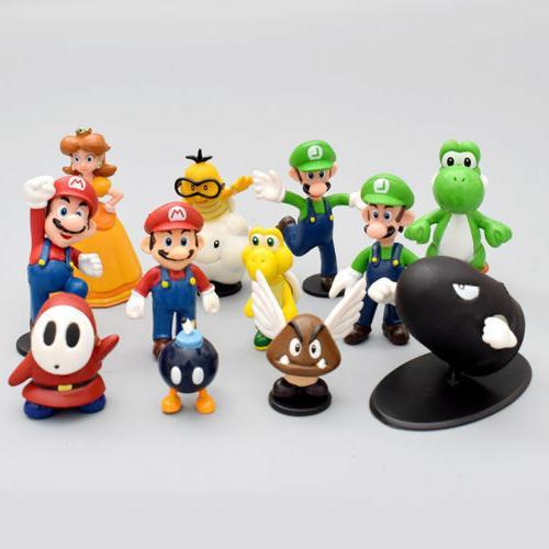 Super Figure Figurine Toy Lot