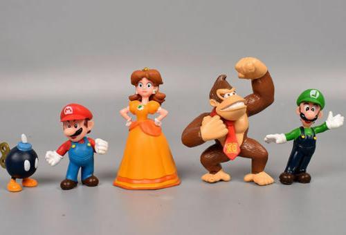 Super Mario Bros Figure Lot