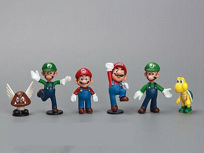 NEWEST Super Bros Lot Action Doll Playset