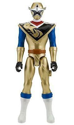 Power Rangers Super Ninja Steel 12-Inch Action Figure, Gold