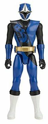 Power Rangers Super Ninja Steel 12-inch Action Figure, Blue