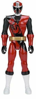 Power Rangers Super Ninja Steel 12-inch Action Figure, Red R