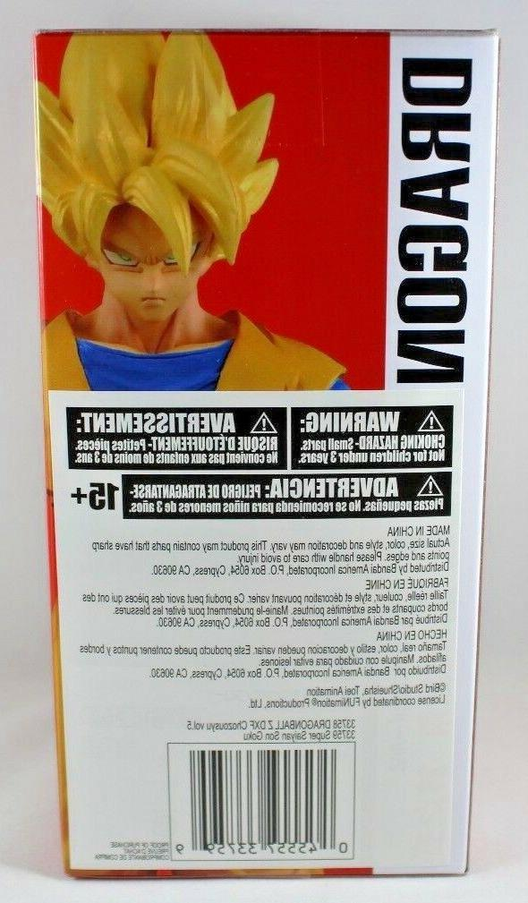 "Super Saiyan Goku 5.9"" Action Banpresto Ball Z Chozousyu"