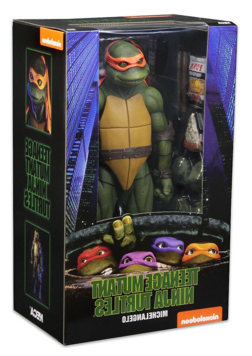 NECA Teenage Mutant Ninja Turtle 1990 Movie 1/4 Scale Action