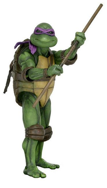 NECA Teenage Turtles Scale
