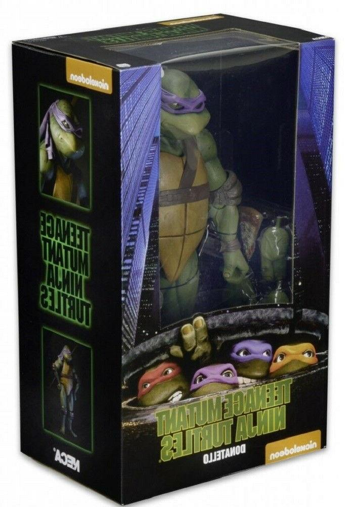 NECA Teenage Mutant Ninja Turtles 1990 Movie 1/4 Scale Actio