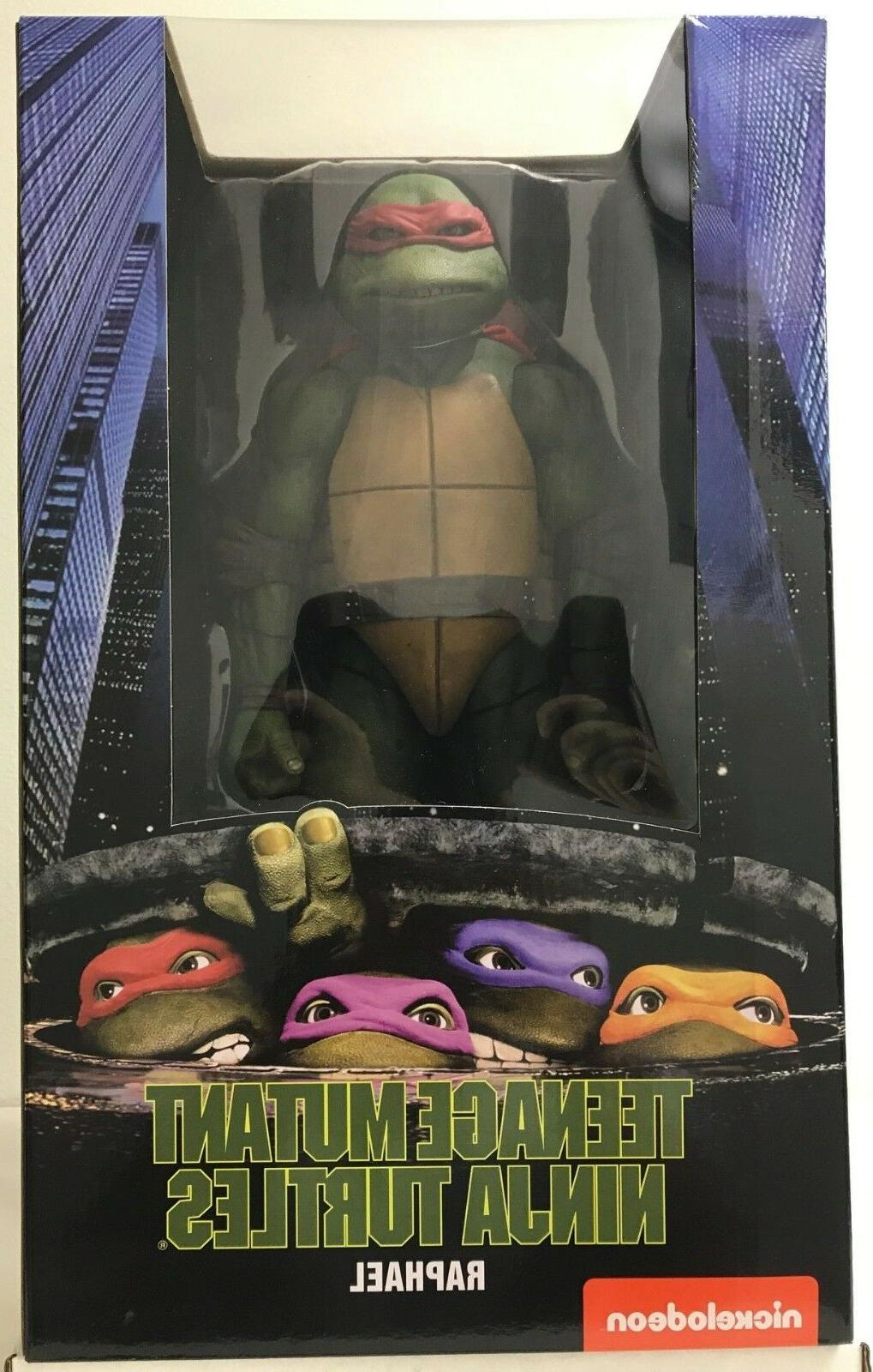 NECA Teenage Mutant Ninja Turtles 1990 Movie 1/4 Scale Actio