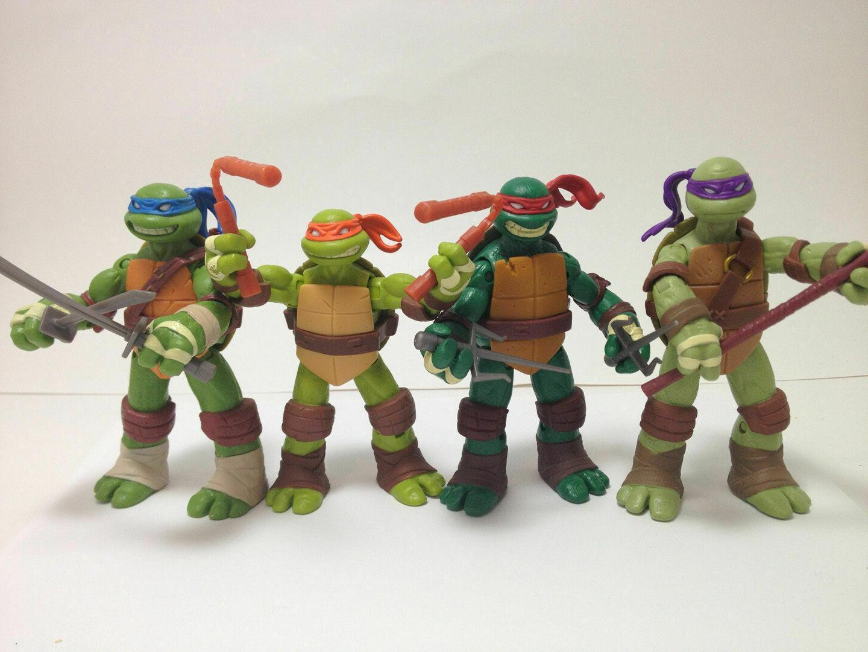 teenage mutant ninja turtles 4x action figures