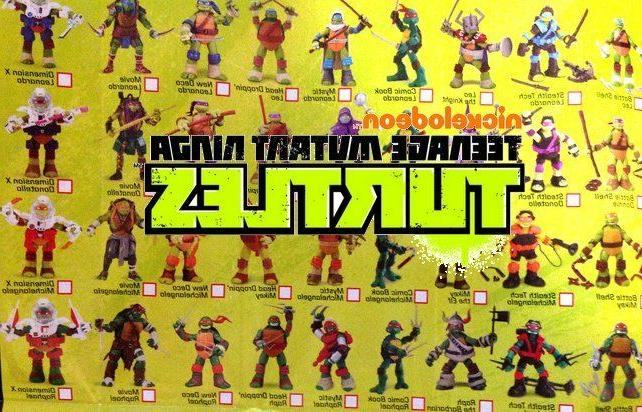 teenage mutant ninja turtles action figures choose