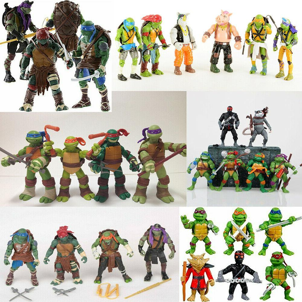 teenage mutant ninja turtles movie action figures