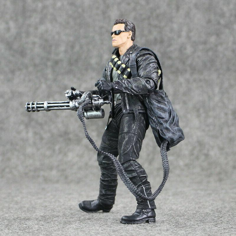 "Terminator Judgment T-800 Arnold 7"" Action NECA"