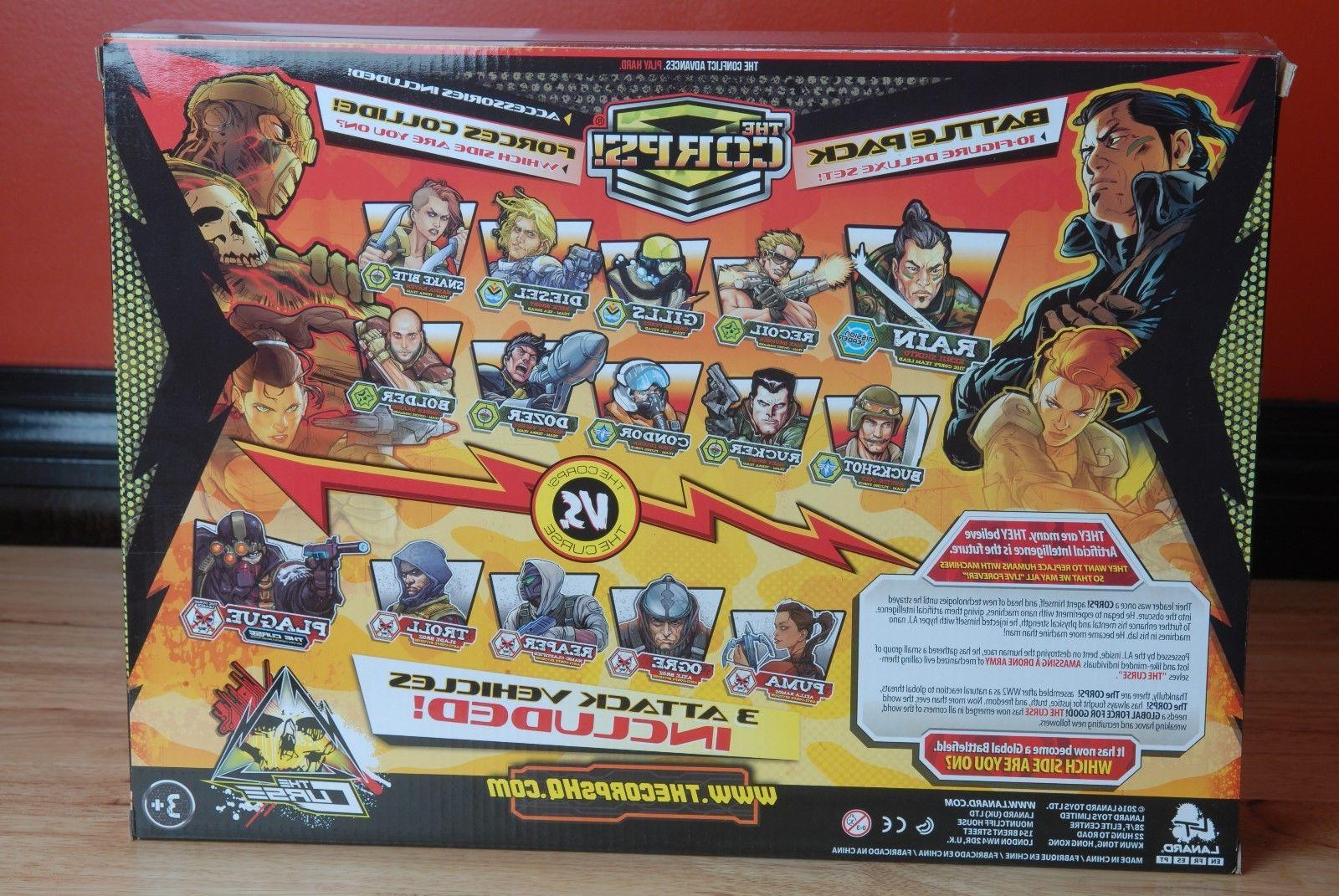 The Forces Action Figures Vehicle Playset Joe