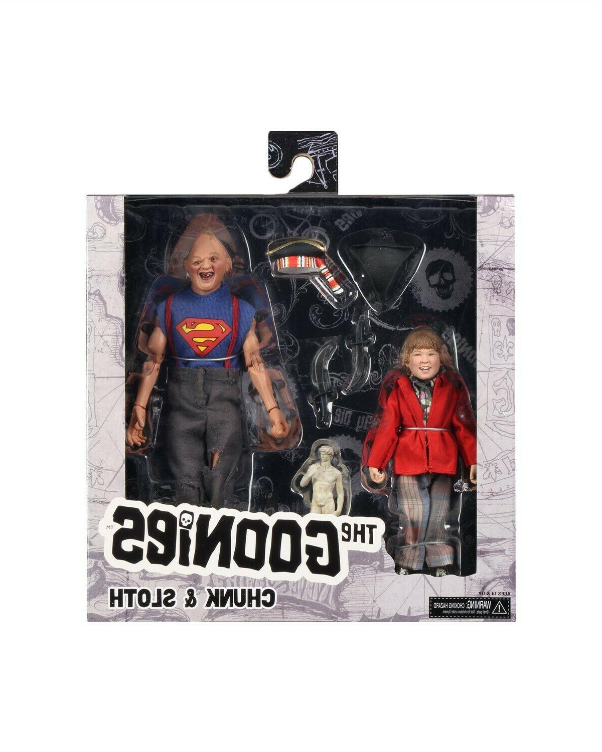 """The 8"""" Clothed Sloth 2-Pack- NECA"""