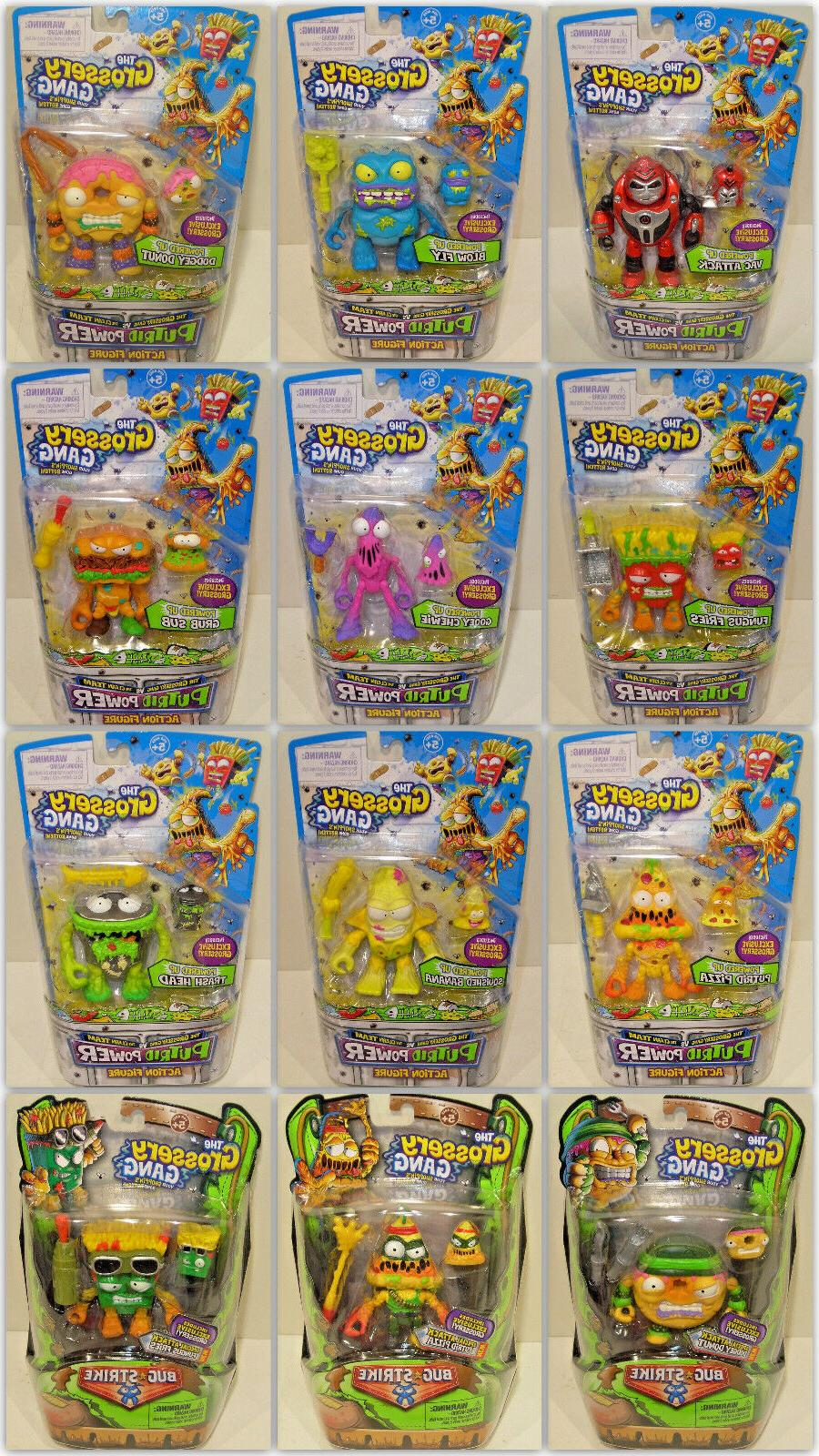 the grossery gang action figures your choice