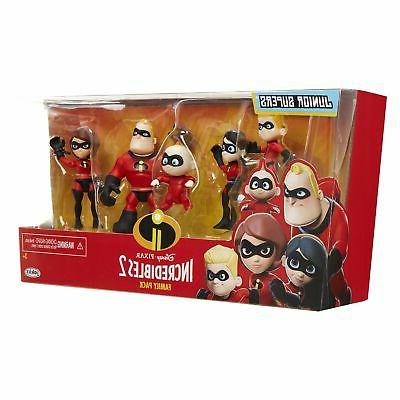"""The 5-Pack Junior Supers Action 3""""Tall"""