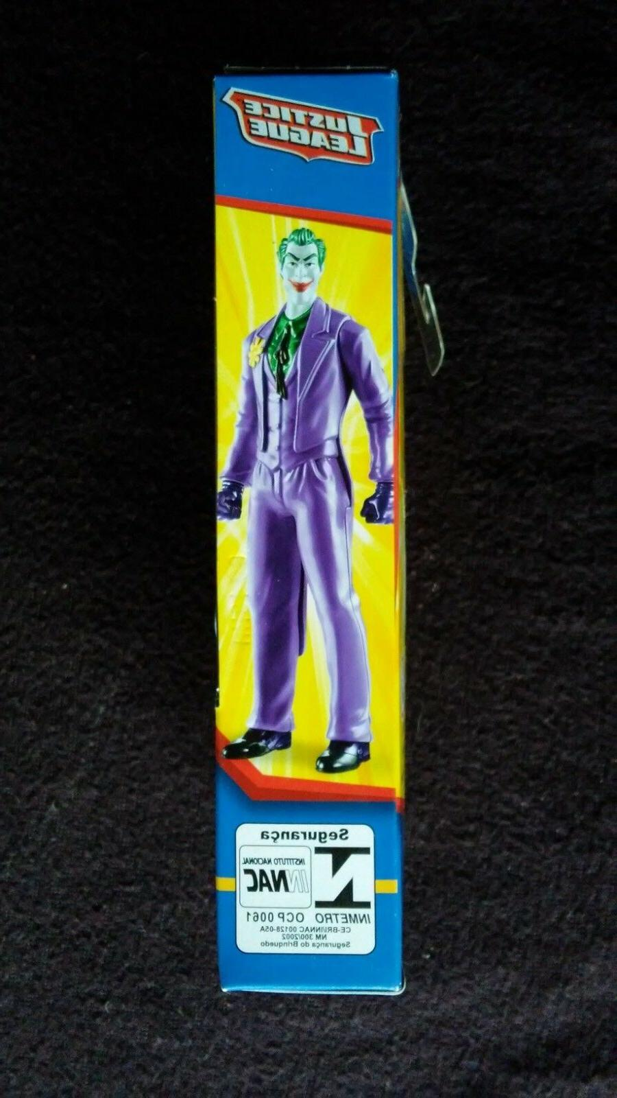 "The Joker Justice League Action Figure, 6"" Mattel"