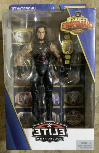 The Undertaker action figure WWE Hall of Champions Elite Col