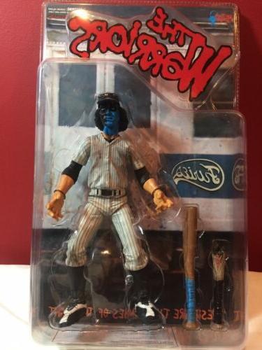 the warriors baseball furies blue face dirty