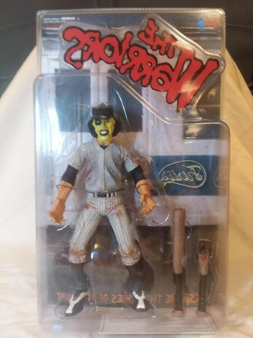 the warriors furies action figure yellow dirty