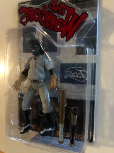 """The WARRIORS """"FURIES"""" purple face figure 2005 Toy"""