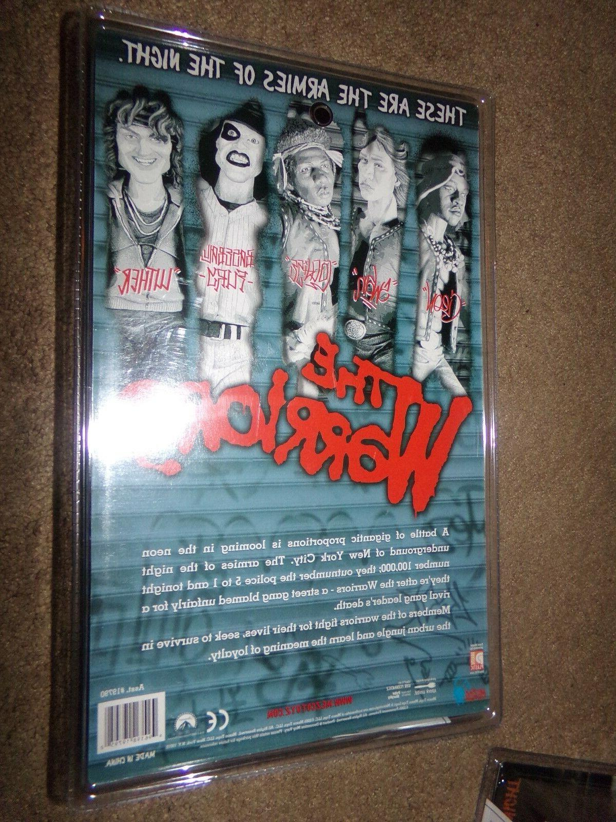 """The WARRIORS 10"""" Action Figure RARE UNOPENED"""
