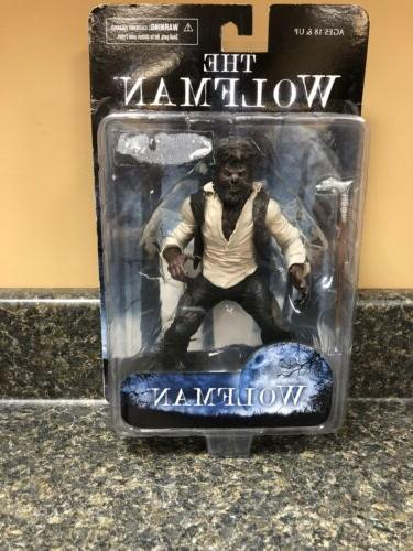 the wolfman 7 inch figure sealed new
