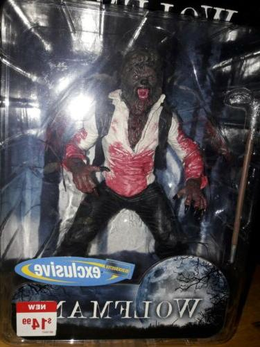 Mezco The Wolfman Exclusive with Variant new mint card