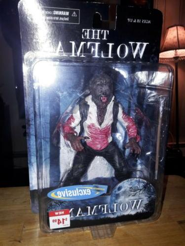 Mezco The Wolfman Blockbuster Exclusive Variant new card
