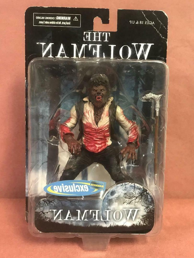 the wolfman w cane blockbuster exclusive chase