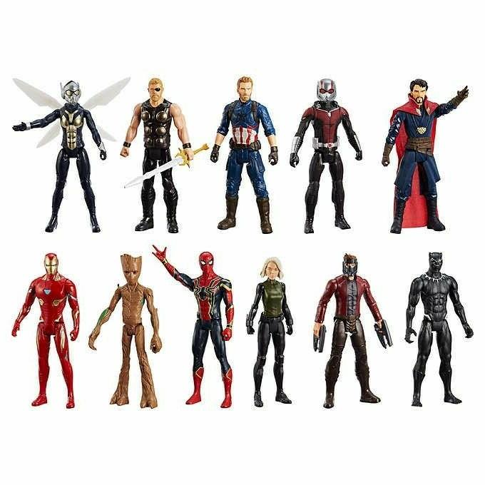 MARVEL-Titan Hero Series Mega Collection 11-Pack Ages and