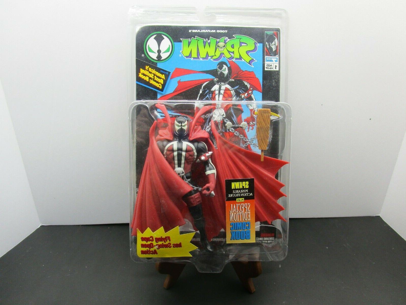 todd mcfarlane spawn series 1 flying cape