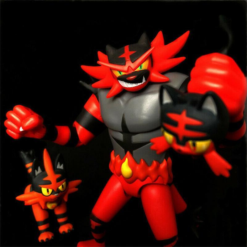 """TOKARA TOMY 6"""" Monster Sun&Moon Kids Action Toys"""
