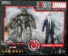 TONY STARK & IRON MAN MARK I MARVEL LEGENDS 10TH YEAR WALMAR