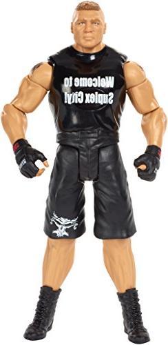"WWE Tough Talkers Brock Lesnar Figure, 6"""