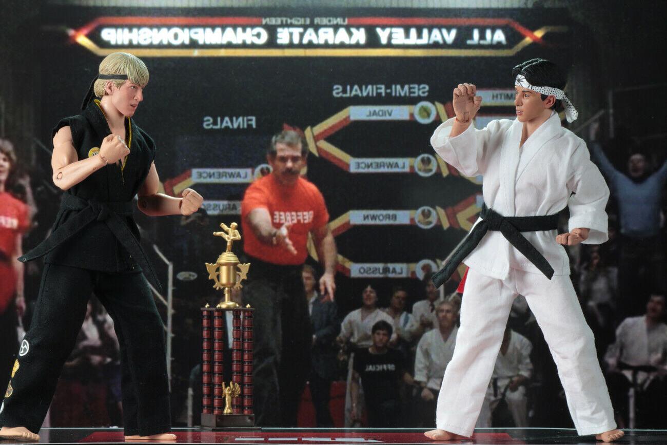 NECA Tournament 2 Karate Kid 1984 Action Daniel NEW