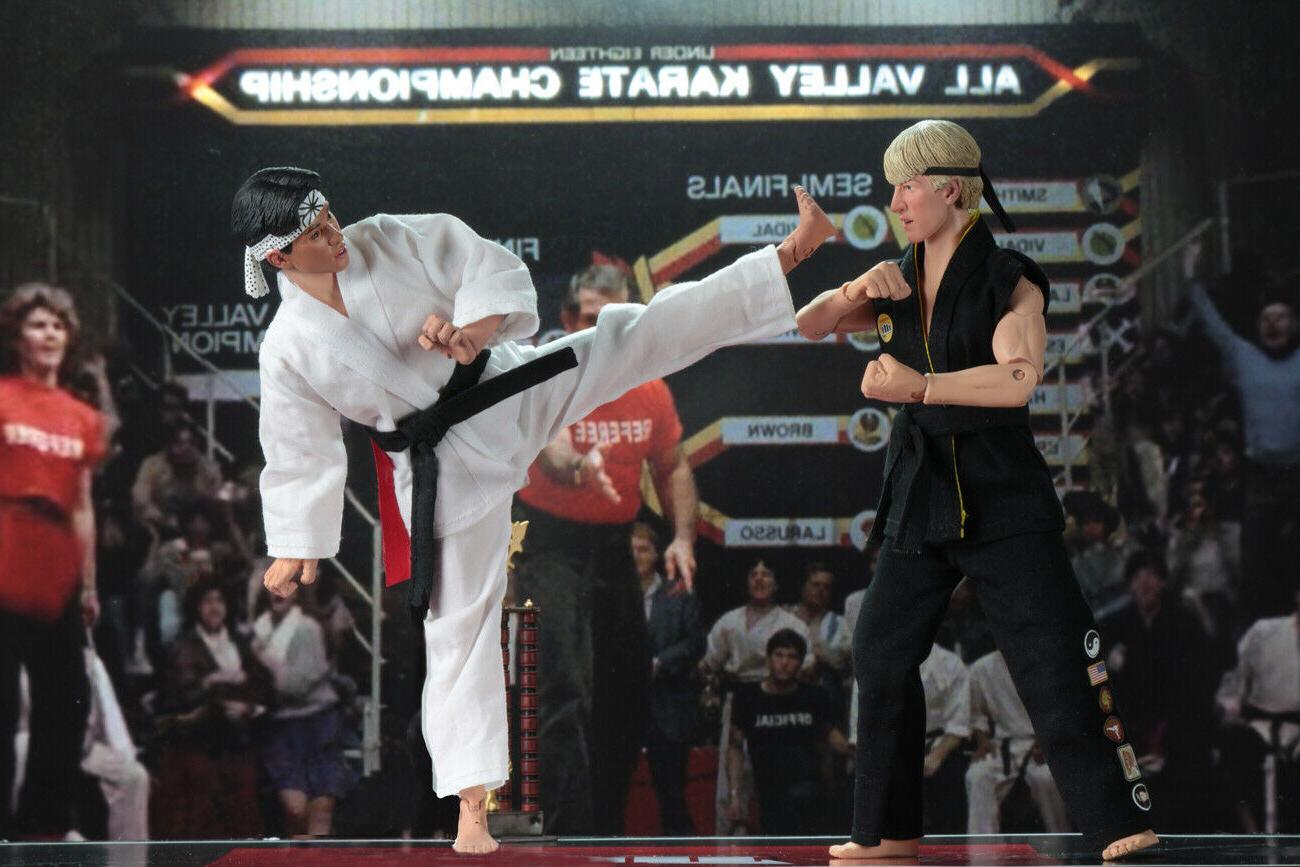 NECA Tournament 2 Karate Action Johnny Daniel