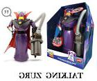 "Disney TOY STORY Emporer Zurg Talking Light Up 15"" Action Fi"