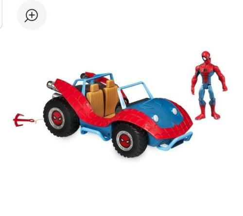 Disney ToyBox Marvel Figure Spider-Mobile MIB