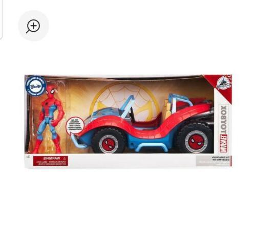 toybox spider man classic marvel figure