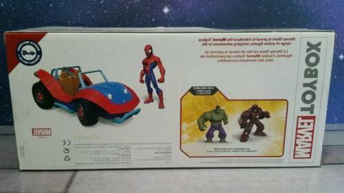 Disney Spider-Mobile - Toybox