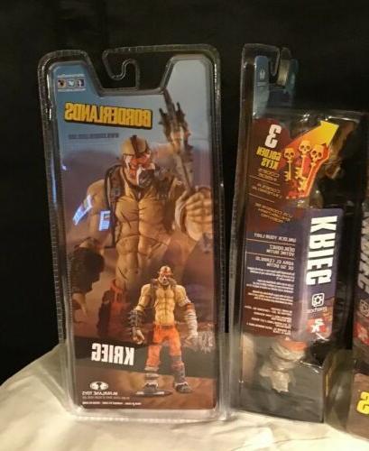 "McFarlane Toys Borderlands Krieg 7"" Action figure code downloadable"