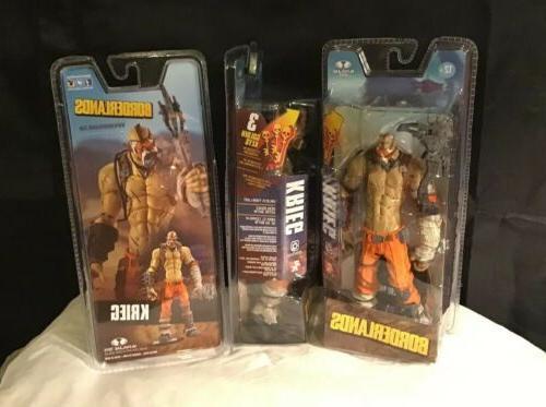 toys borderlands krieg 7 action figure w