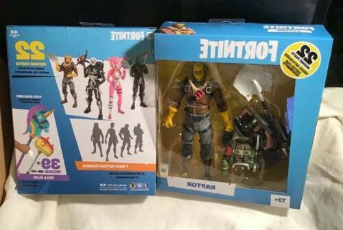 toys fortnite epic games raptor 7 action