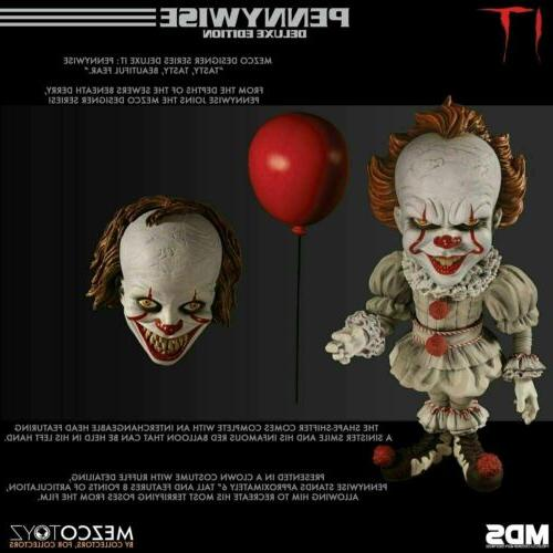 Mezco Pennywise Deluxe Stylized Action Figure Film