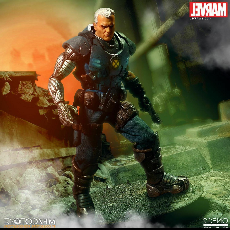 Mezco Toys ONE:12 COLLECTIVE Cable X-men 6