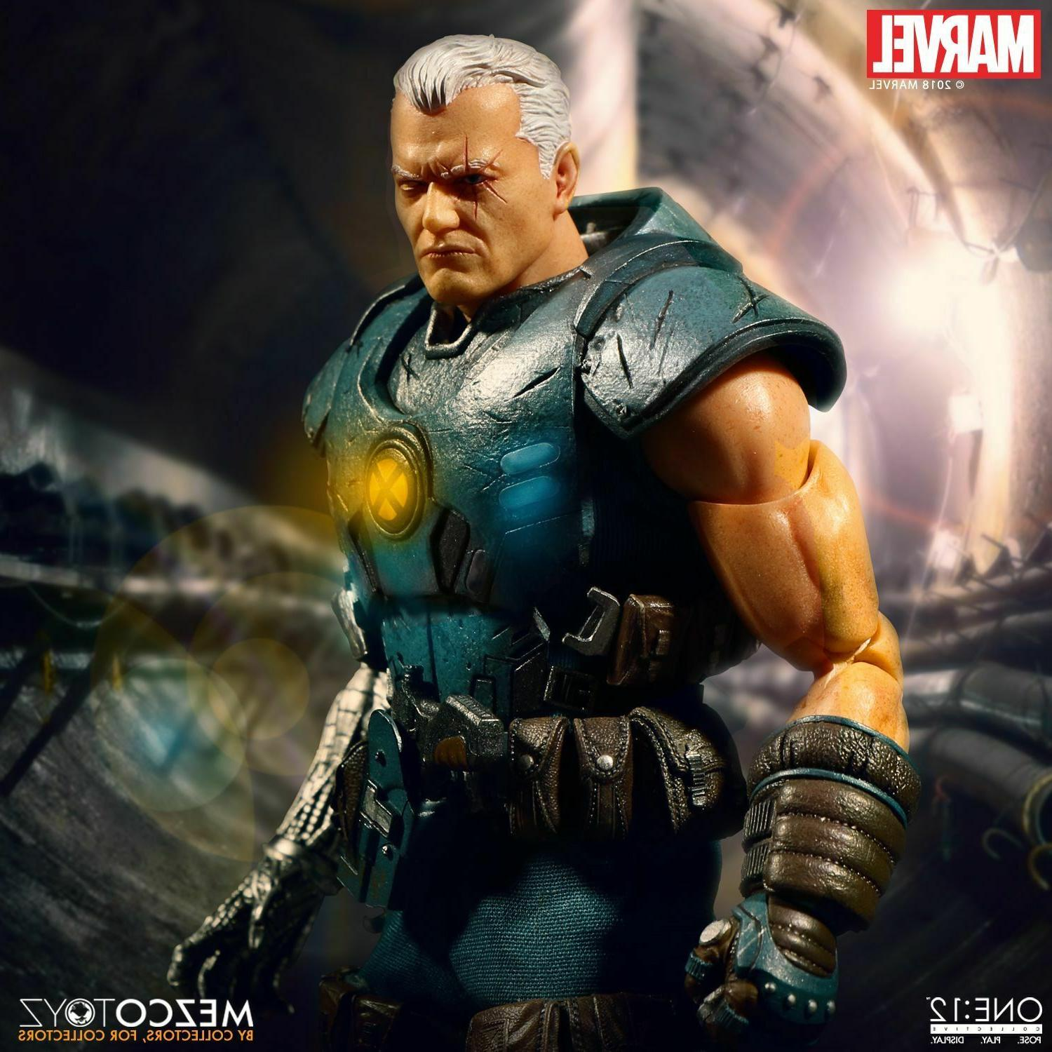 Mezco Marvel Cable 1/12 Scale Figure New Stock