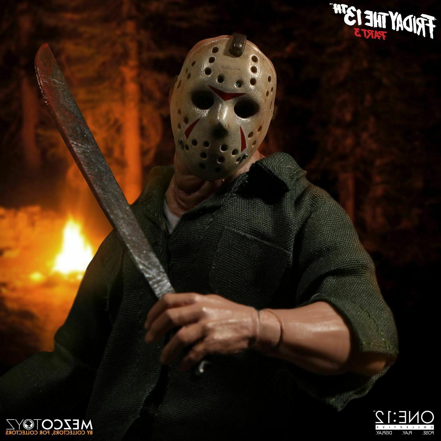 Mezco Toys Friday 13th 3 Jason Voorhees
