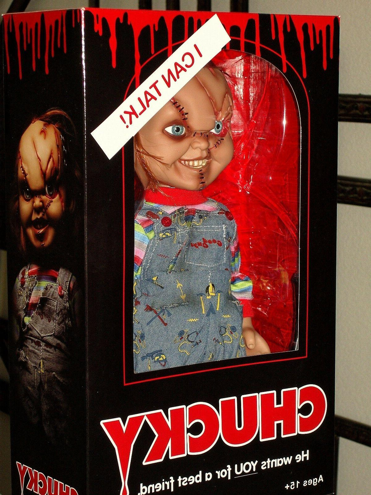Mezco Toyz 2016 Child's Play Scarred Mega Doll