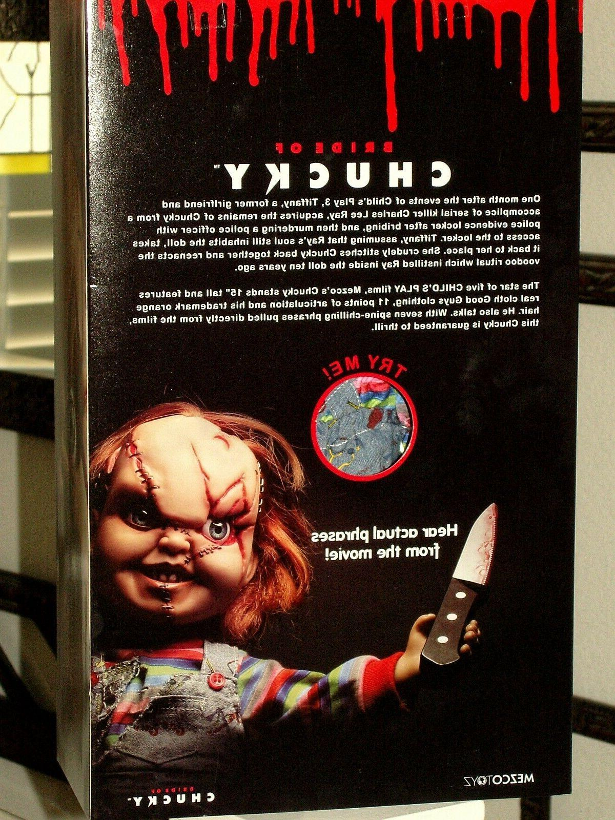 Mezco Play Chucky Talking Mega Scale15-Inch *MINT